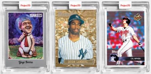 Topps Project 70 - 3 Card Bundle - 43-45 (PRE-SALE)