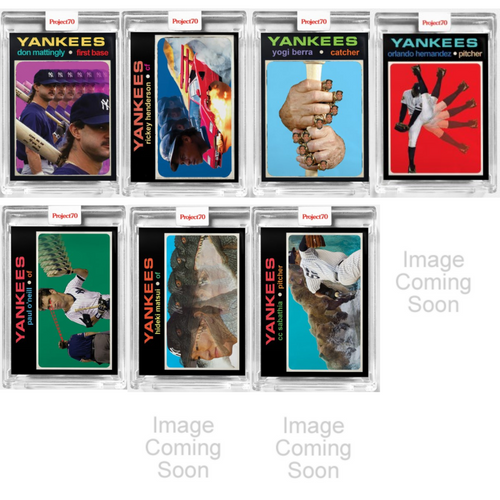Topps Project 70 Action Bronson Complete 20-Card Artist Set (Pre-Sale)