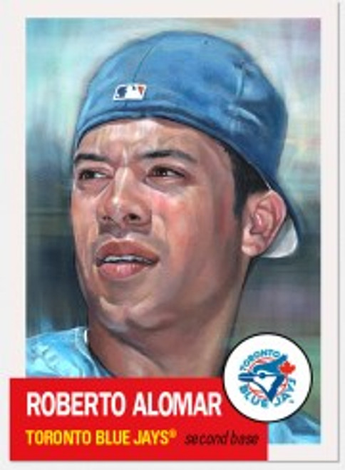 Topps Living Set - Card #395 - Roberto Alomar (pre-sale)