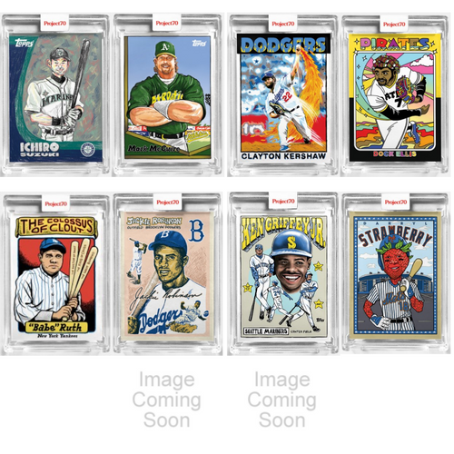 Topps Project 70 Chinatown Market Complete 20-Card Artist Set (Pre-Sale)