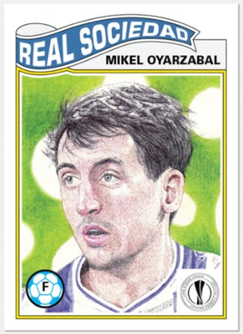 Topps Living Set - UCL - Card #293 - Mikel Oyarzabal (pre-sale)