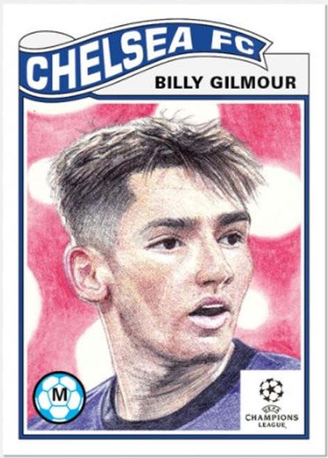 Topps Living Set - UCL - Card #294 - Billy Gilmour (pre-sale)
