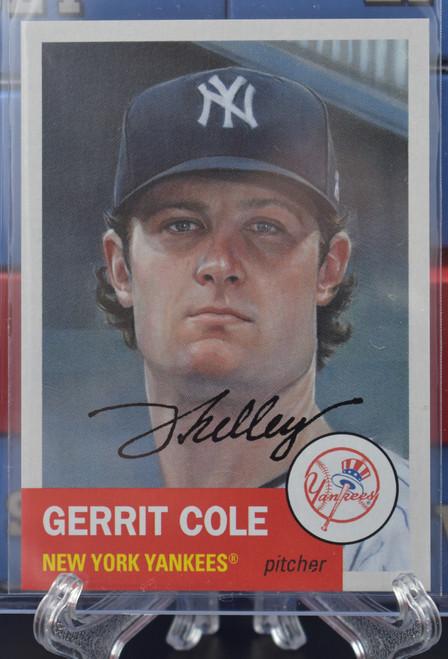 Jared Kelley autographed Garrit Cole Living Set Card