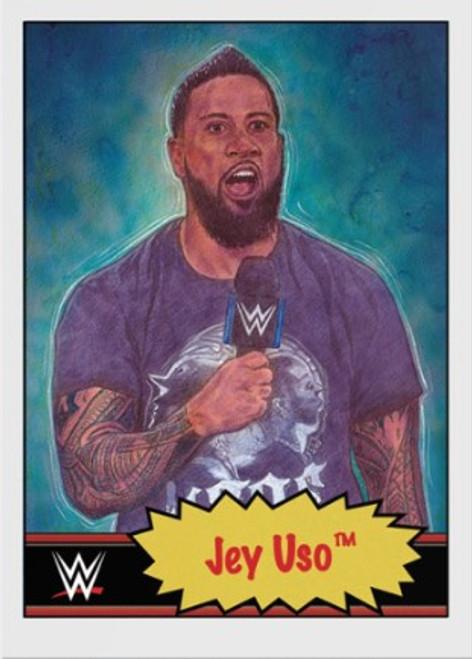 Topps Living Set - WWE - Card #13 - Jey Uso (pre-sale)