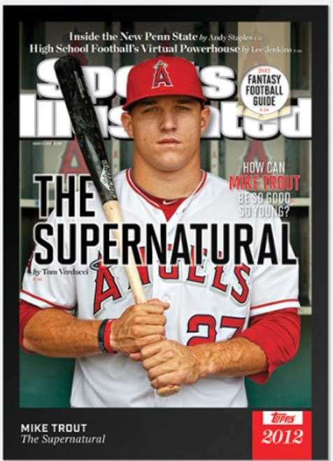 2021 Topps x Sports Illustrated - Mike Trout - Card #1 (pre-sale)