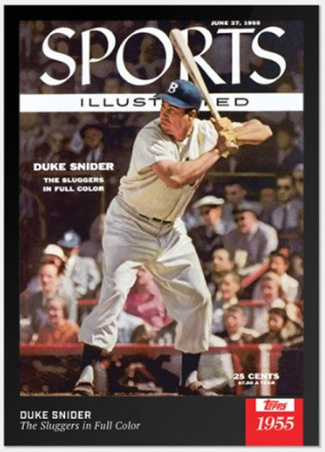 2021 Topps x Sports Illustrated - Duke Snider - Card #2 (pre-sale)