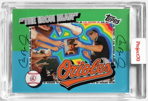 Topps Project 70 Cal Ripken Jr. #59 by Sean Wotherspoon (PRE-SALE)