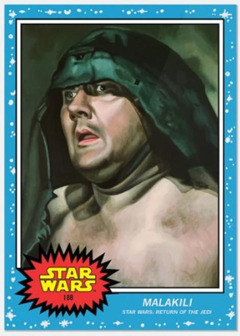Topps Living Set - Star Wars - Card #188 - Malakili (pre-sale)