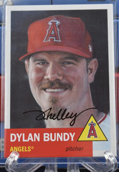 Jared Kelley autographed Dylan Bundy Living Set Card