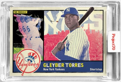 Topps Project 70 Gleyber Torres #65 by New York Nico (PRE-SALE)