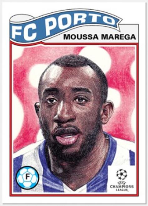 Topps Living Set - UCL - Card #297 - Moussa Marega (pre-sale)