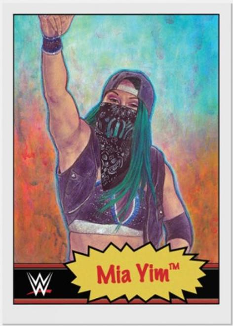 Topps Living Set - WWE - Card #15 - Mia Yim (pre-sale)