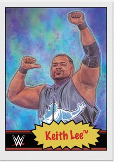 Topps Living Set - WWE - Card #16 - Keith Lee (pre-sale)