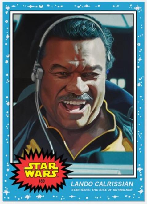 Topps Living Set - Star Wars - Card #189 - Lando Calrissian (pre-sale)