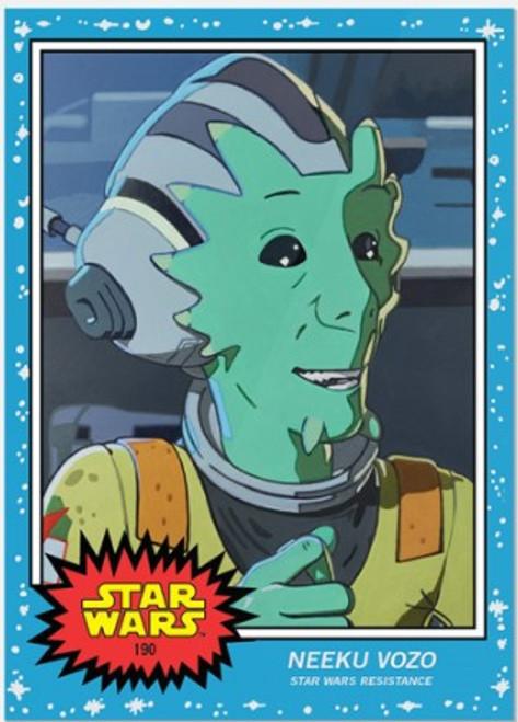Topps Living Set - Star Wars - Card #190 - Neeku Vozo (pre-sale)