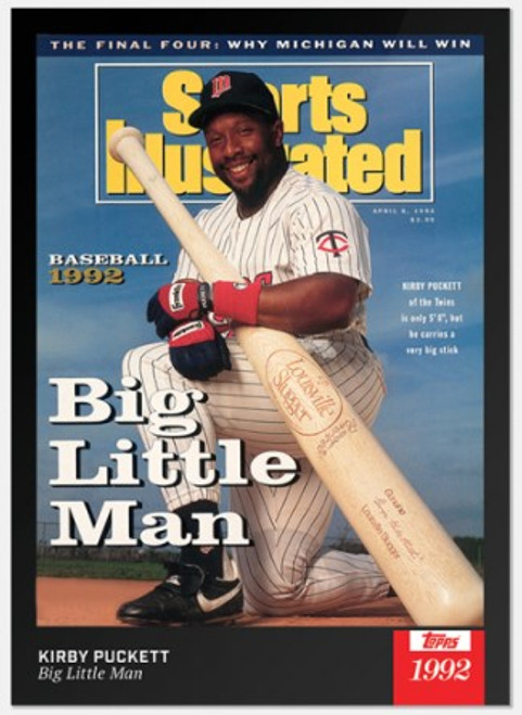 2021 Topps x Sports Illustrated - Kirby Puckett - Card #4 (pre-sale)