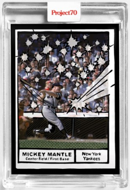 Topps Project 70 Mickey Mantle #77 by Joshua Vides (PRE-SALE)