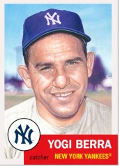 Topps Living Set - Card #400 - Yogi Berra (pre-sale)