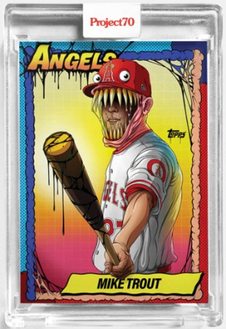 Topps Project 70 Mike Trout #79 by Alex Pardee (PRE-SALE)