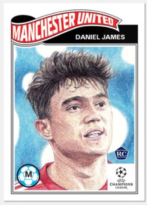 Topps Living Set - UCL - Card #298 - Daniel James (pre-sale)