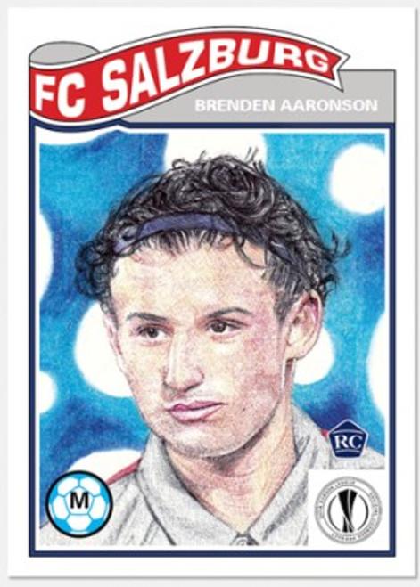 Topps Living Set - UCL - Card #299 - Brenden Aaronson (pre-sale)