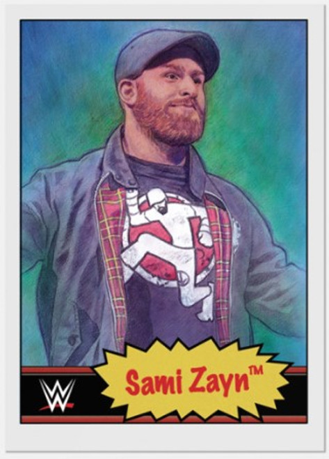 Topps Living Set - WWE - Card #17 - Sami Zayn (pre-sale)
