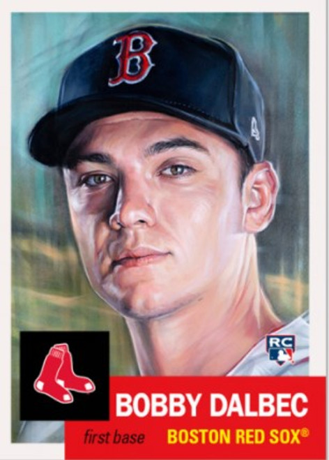 Topps Living Set - Card #401 -Bobby Dalbec (pre-sale)