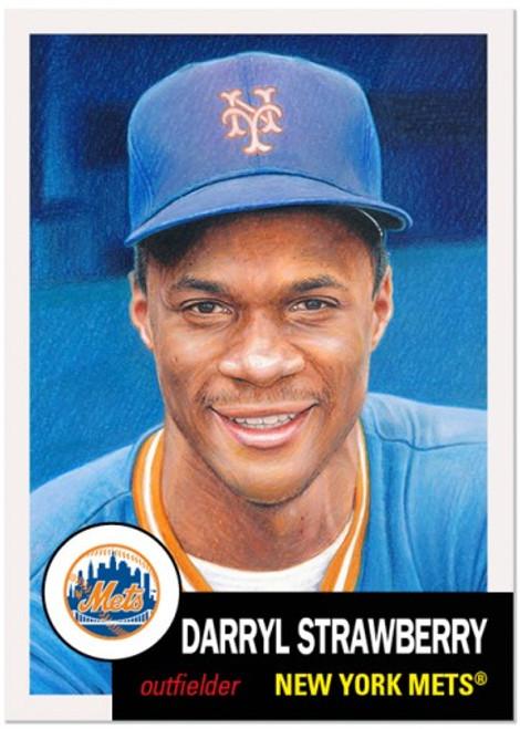 Topps Living Set - Card #402 - Darryl Strawberry (pre-sale)