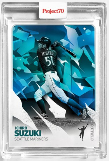 Topps Project 70 Ichiro #91 by Mikael B (PRE-SALE)