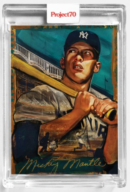 Topps Project 70 Mickey Mantle #100 by Andrew Thiele (PRE-SALE)