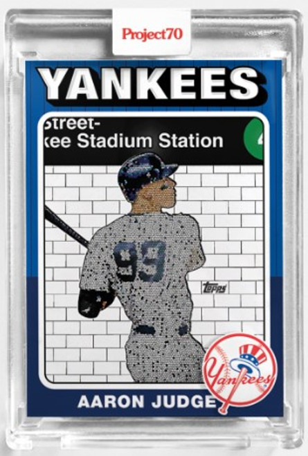 Topps Project 70 Aaron Judge #110 by Jeff Staple (PRE-SALE)