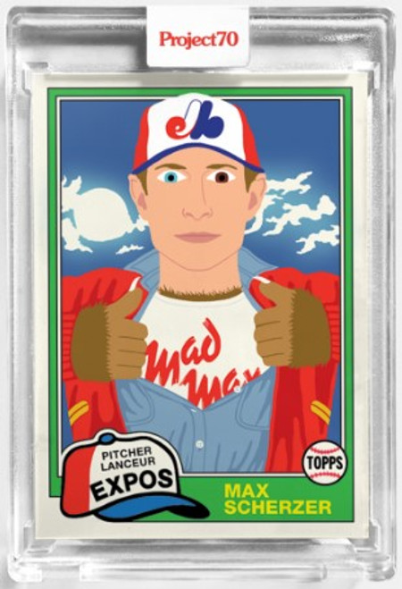Topps Project 70 Max Scherzer #111 by Keith Shore (PRE-SALE)
