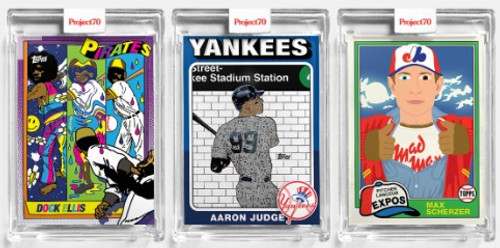 Topps Project 70 - 3 Card Bundle - 109-111 (PRE-SALE)