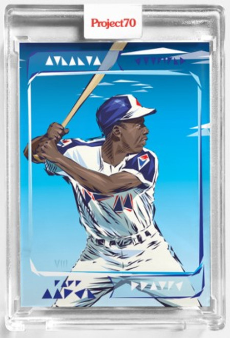 Topps Project 70 Hank Aaron #112 by Naturel (PRE-SALE)