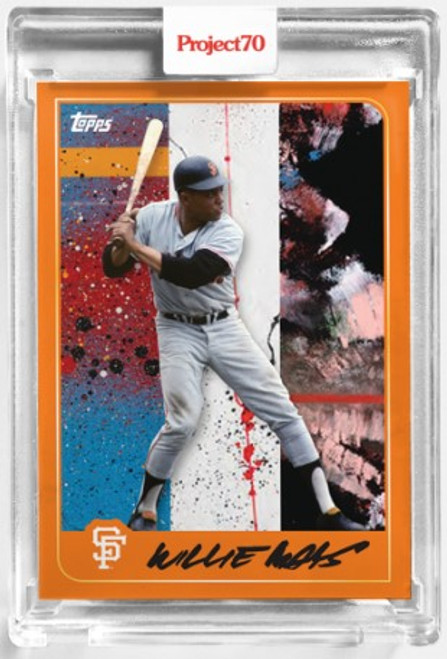 Topps Project 70 Willie Mays #114 by Futura(PRE-SALE)