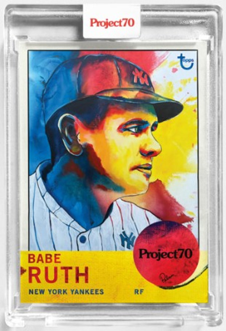 Topps Project 70 Babe Ruth #115 by Brittney Palmer (PRE-SALE)