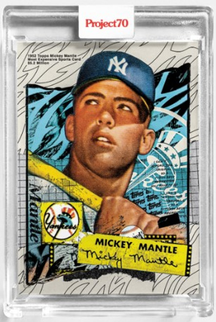 Topps Project 70 Mickey Mantle #121 by Tyson Beck (PRE-SALE)