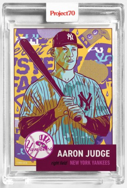Topps Project 70 Aaron Judge #123 by Morning Breath (PRE-SALE)
