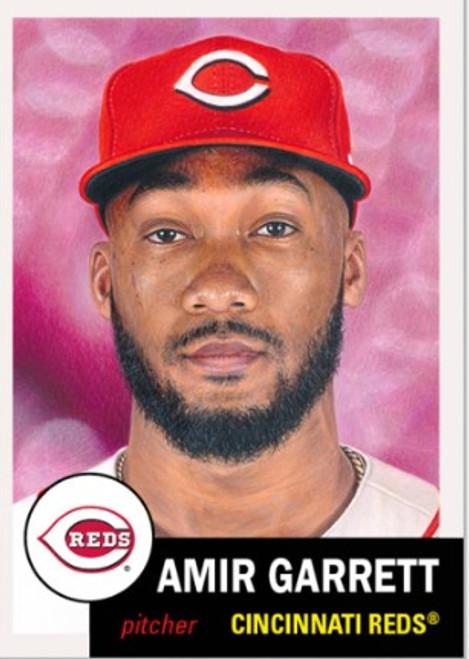 Topps Living Set - Card #406 - Amir Garrett (pre-sale)