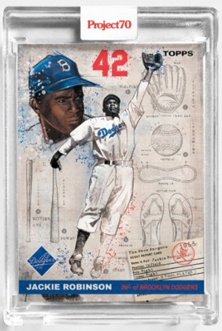 Topps Project 70 Jackie Robinson #125 by The Shoe Surgeon (PRE-SALE)