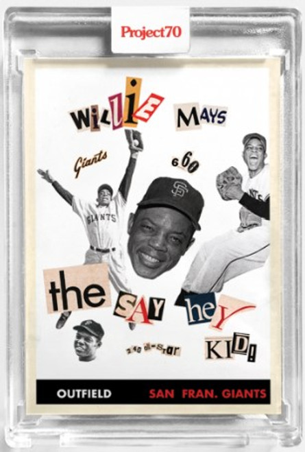 Topps Project 70 Willie Mays #128 by Infinite Archives (PRE-SALE)