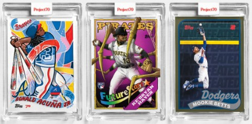 Topps Project 70 - 3 Card Bundle - 130-132 (PRE-SALE)