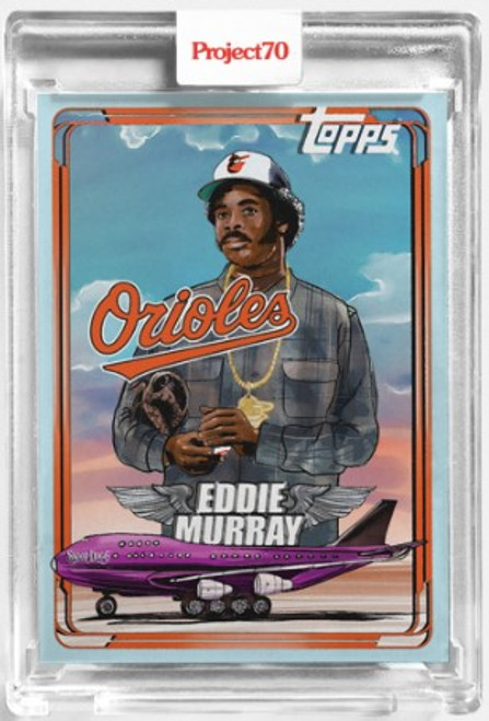 Topps Project 70 Eddie Murray #133 by Snoop Dogg (PRE-SALE)