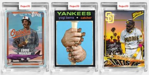 Topps Project 70 - 3 Card Bundle - 133-135 (PRE-SALE)