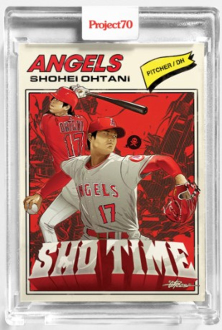 Topps Project 70 Shohei Ohtani #139 by Quiccs (PRE-SALE)