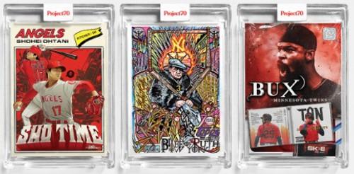 Topps Project 70 - 3 Card Bundle - 139-141 (PRE-SALE)