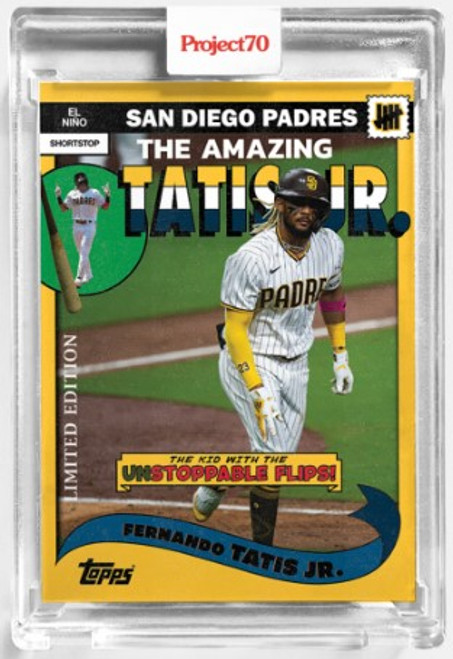 Topps Project 70 Fernando Tatis Jr. #177 by UNDEFEATED (PRE-SALE)