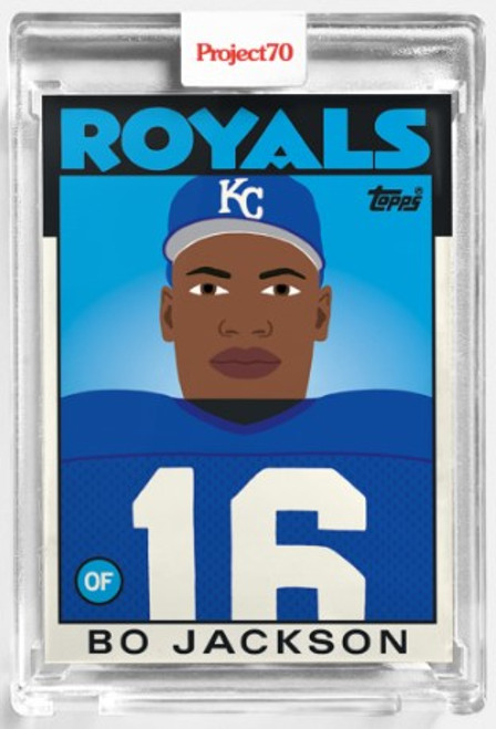 Topps Project 70 Bo Jackson #234 by Keith Shore (PRE-SALE)