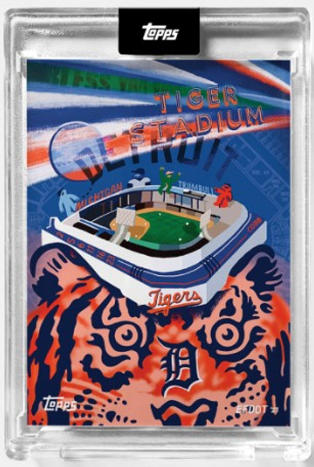 2021 Topps X - Efdot Iconic Stadium Series 2 - Card 7 - Tiger Stadium - (PRE-SALE)