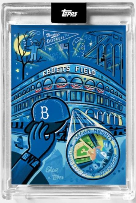 2021 Topps X - Efdot Iconic Stadium Series 2 - Card 8 - Ebbets Field- (PRE-SALE)